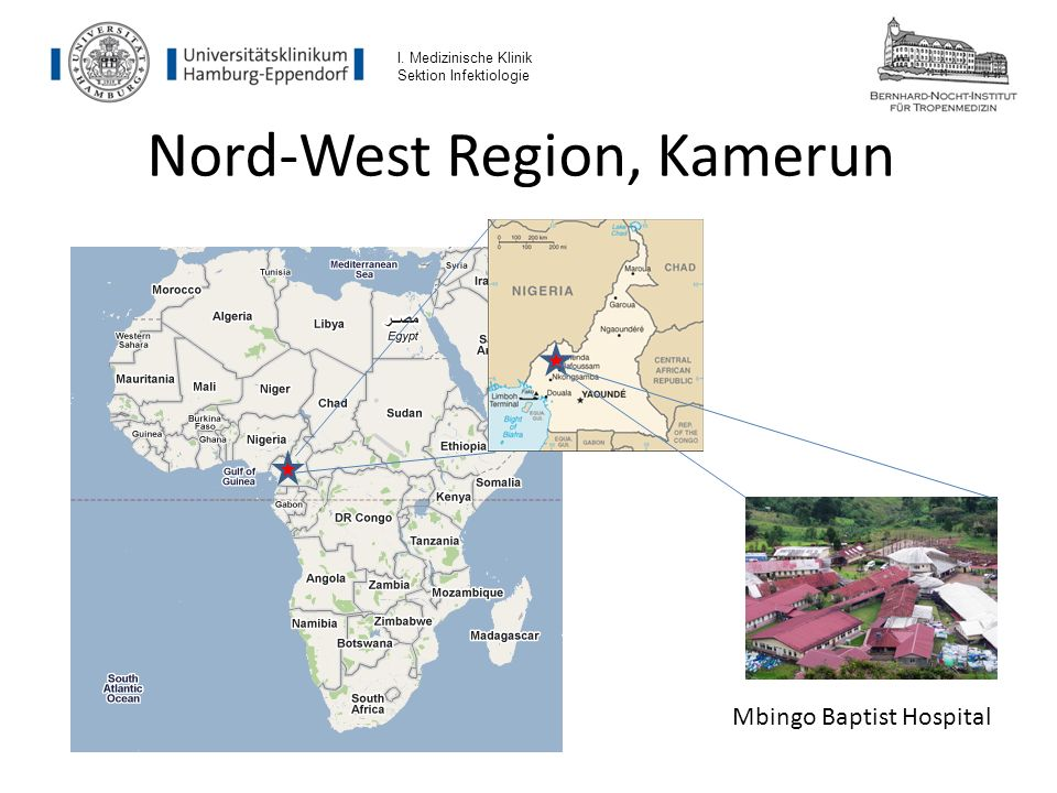 Nord-West Region, Kamerun