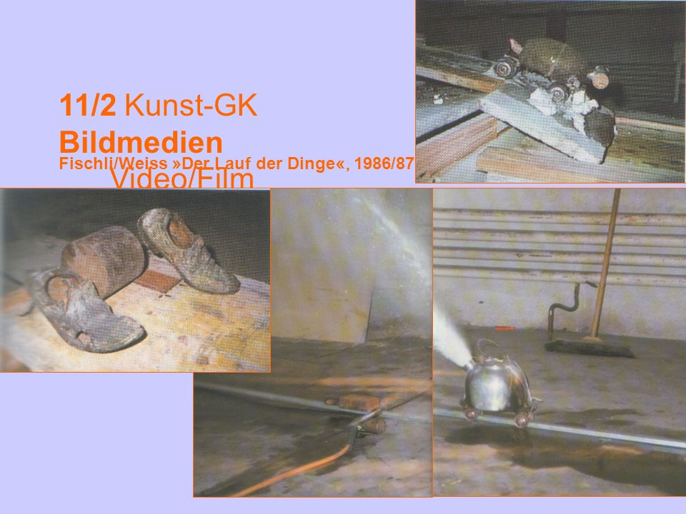 11/2 Kunst-GK Bildmedien Video/Film