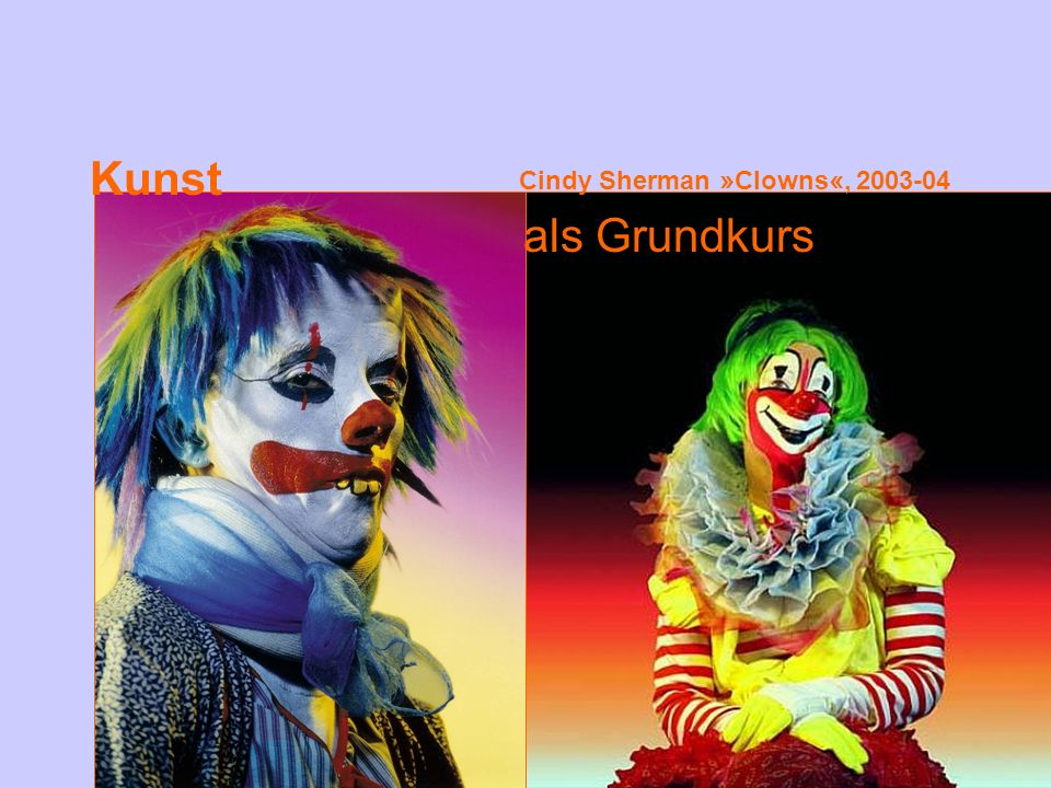 Cindy Sherman »Clowns«,