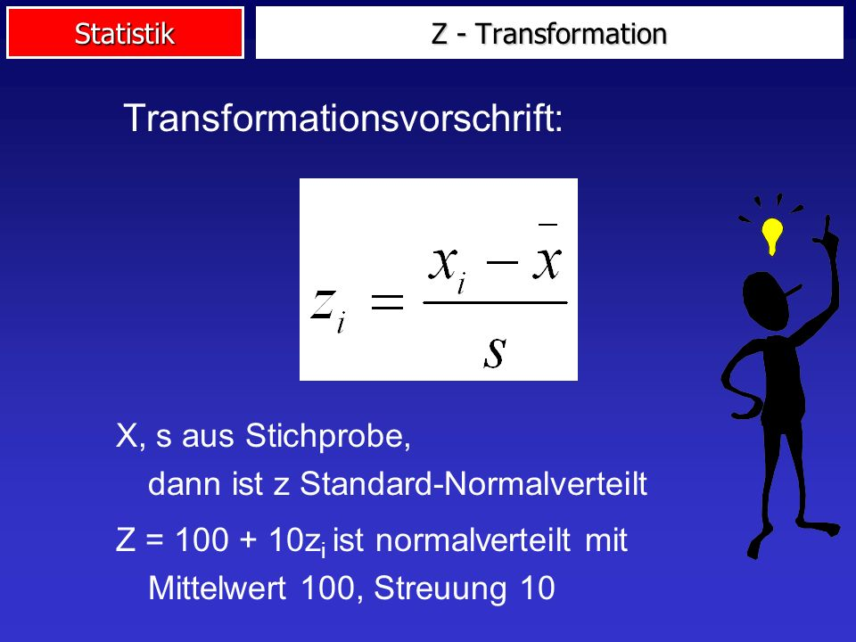 Transformationsvorschrift: