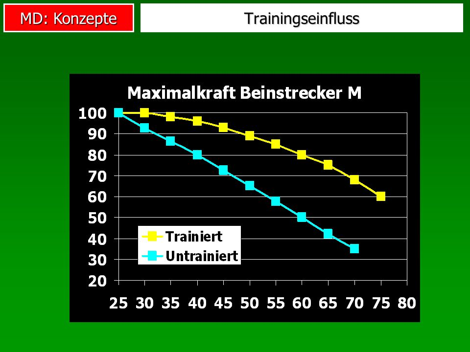 Trainingseinfluss