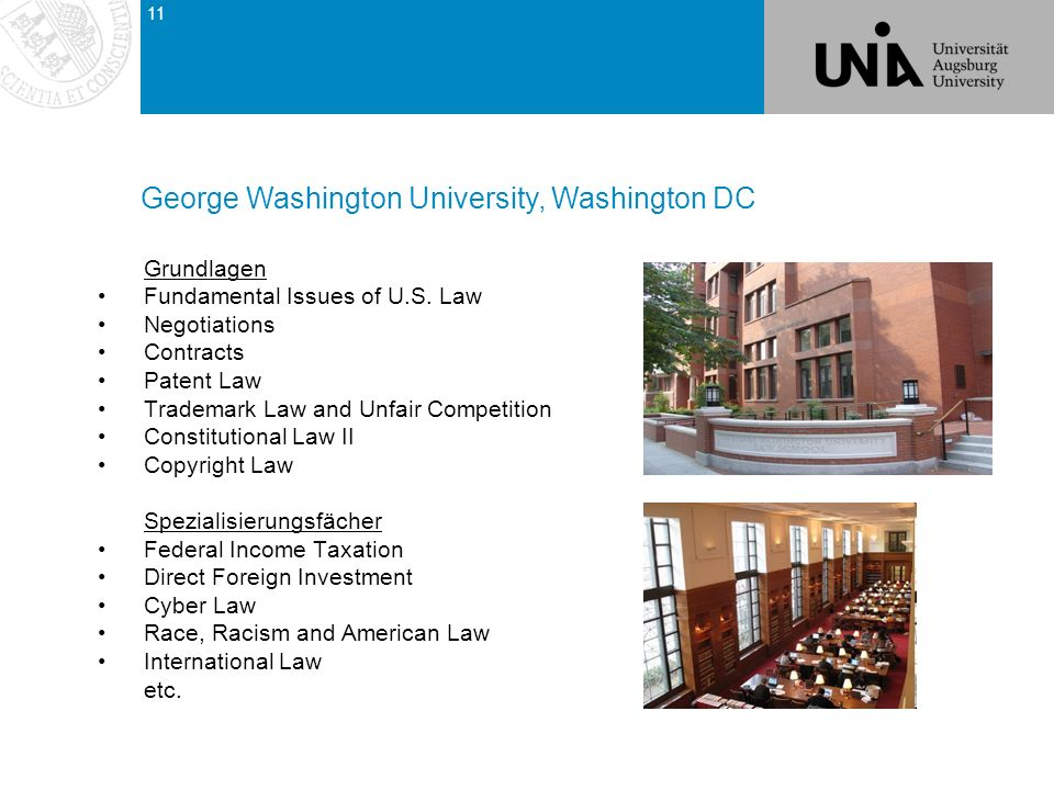 George Washington University, Washington DC