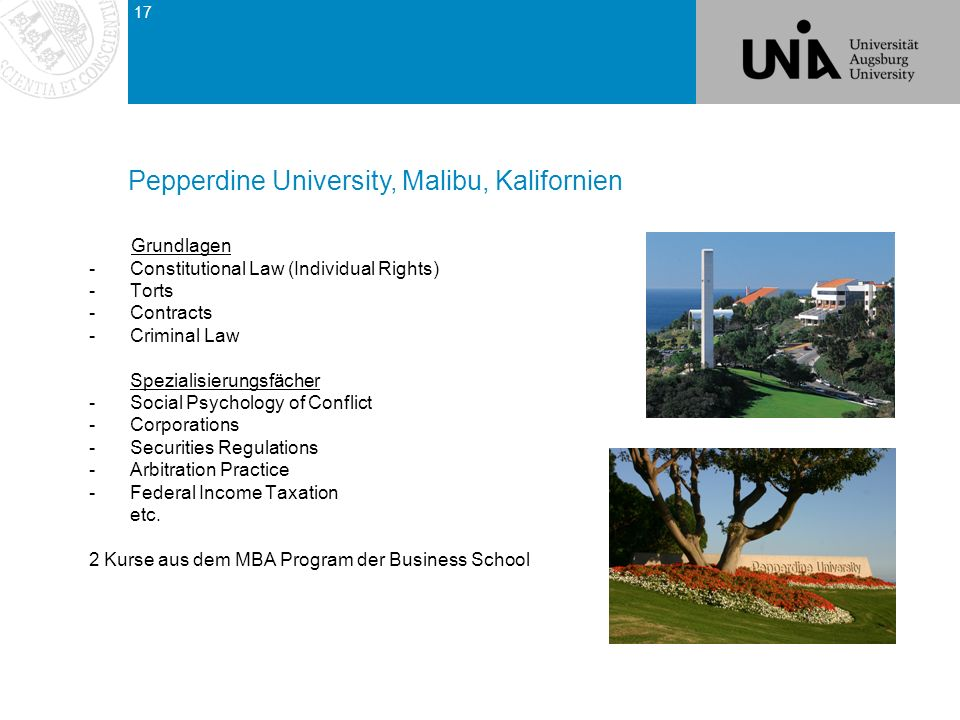 Pepperdine University, Malibu, Kalifornien
