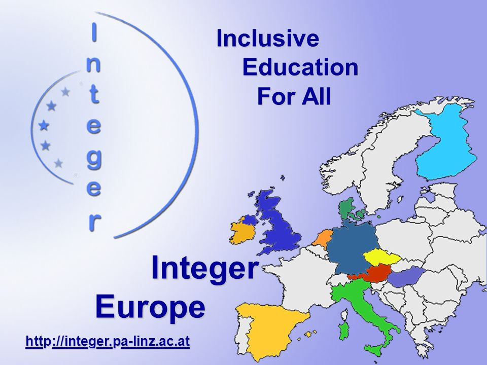 Integer Europe Inclusive Education For All