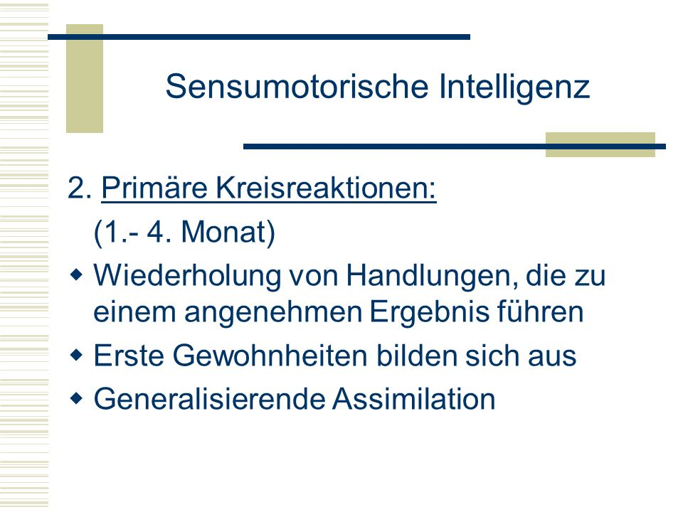 Sensumotorische Intelligenz