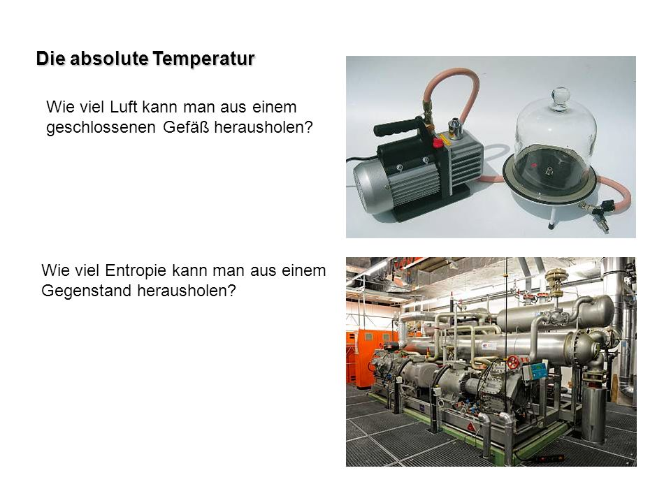 Die absolute Temperatur