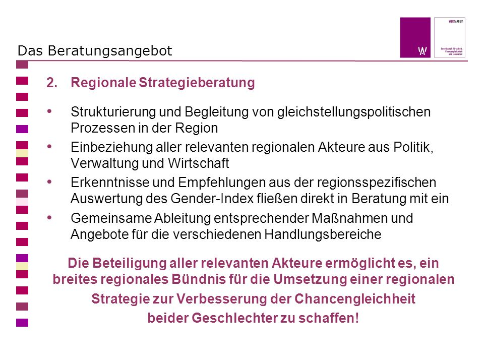 2. Regionale Strategieberatung