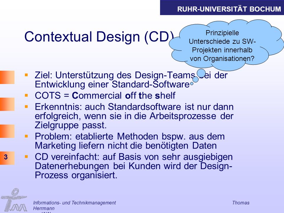 Contextual Design (CD)