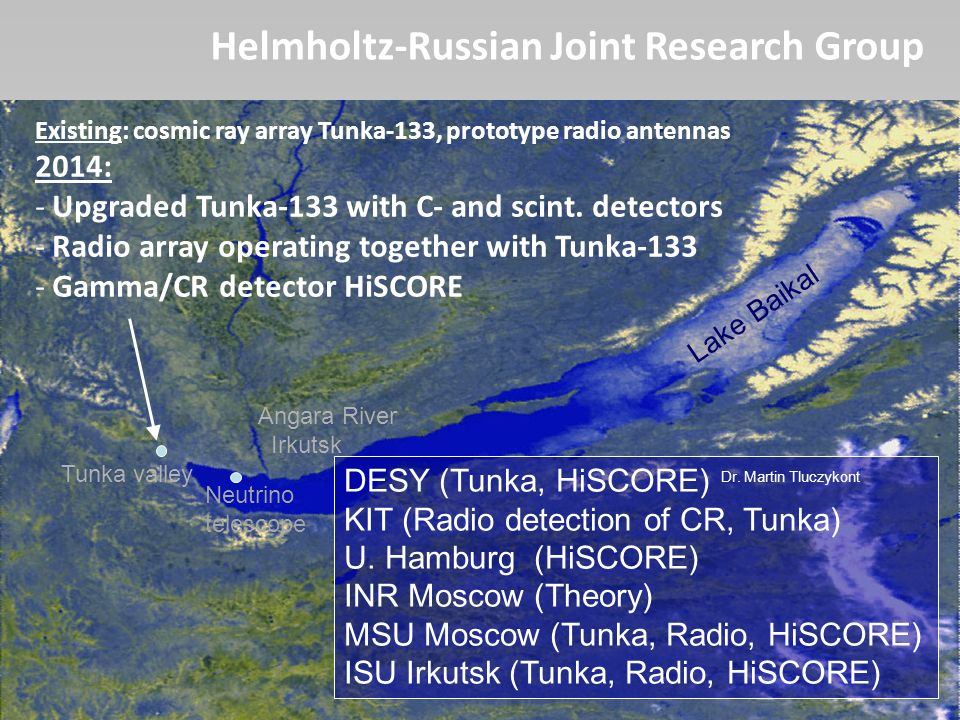 Helmholtz-Russian Joint Research Group