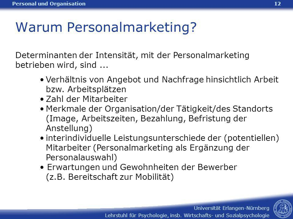 Warum Personalmarketing