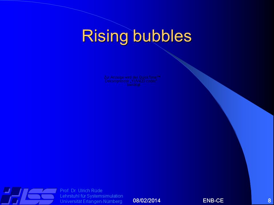 Rising bubbles