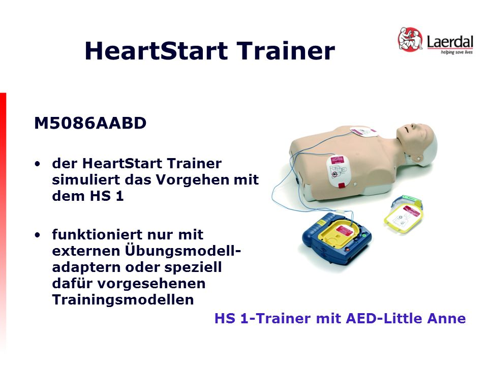 HeartStart Trainer M5086AABD