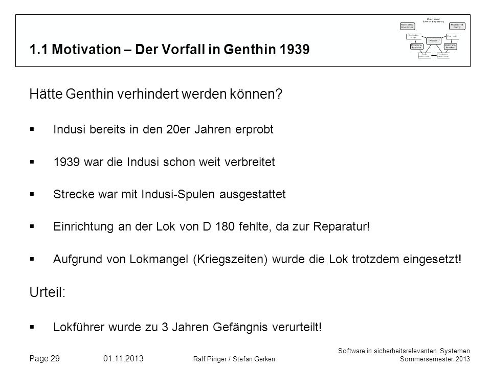 1.1 Motivation – Der Vorfall in Genthin 1939