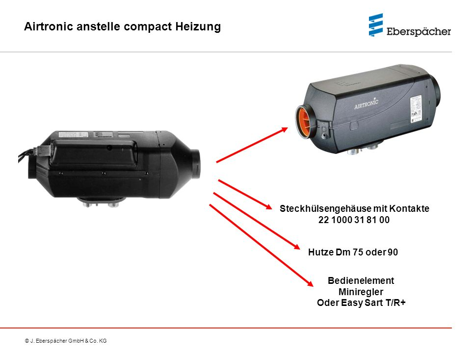 Airtronic anstelle compact Heizung