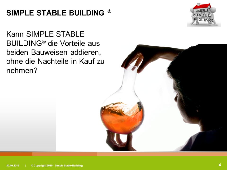 SIMPLE STABLE BUILDING ®