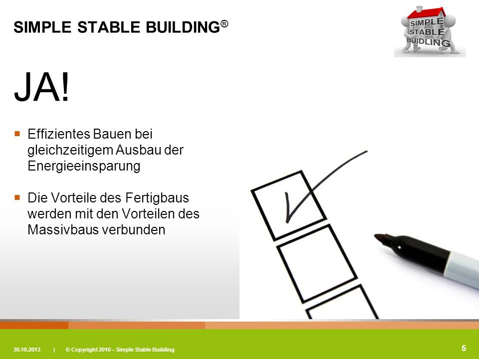SIMPLE STABLE BUILDING®