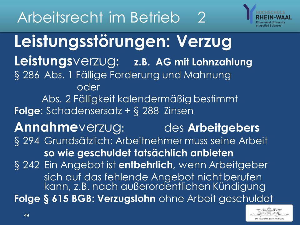 Arbeitsrecht Im Betrieb Dr Jur Joachim Ingendahl Ppt Herunterladen