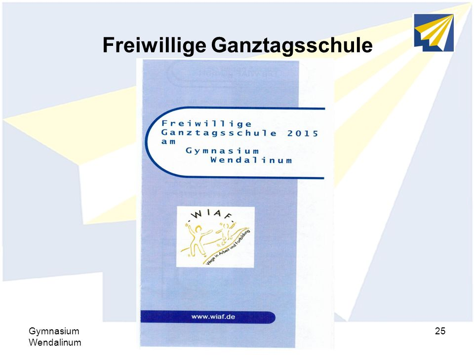 Freiwillige Ganztagsschule