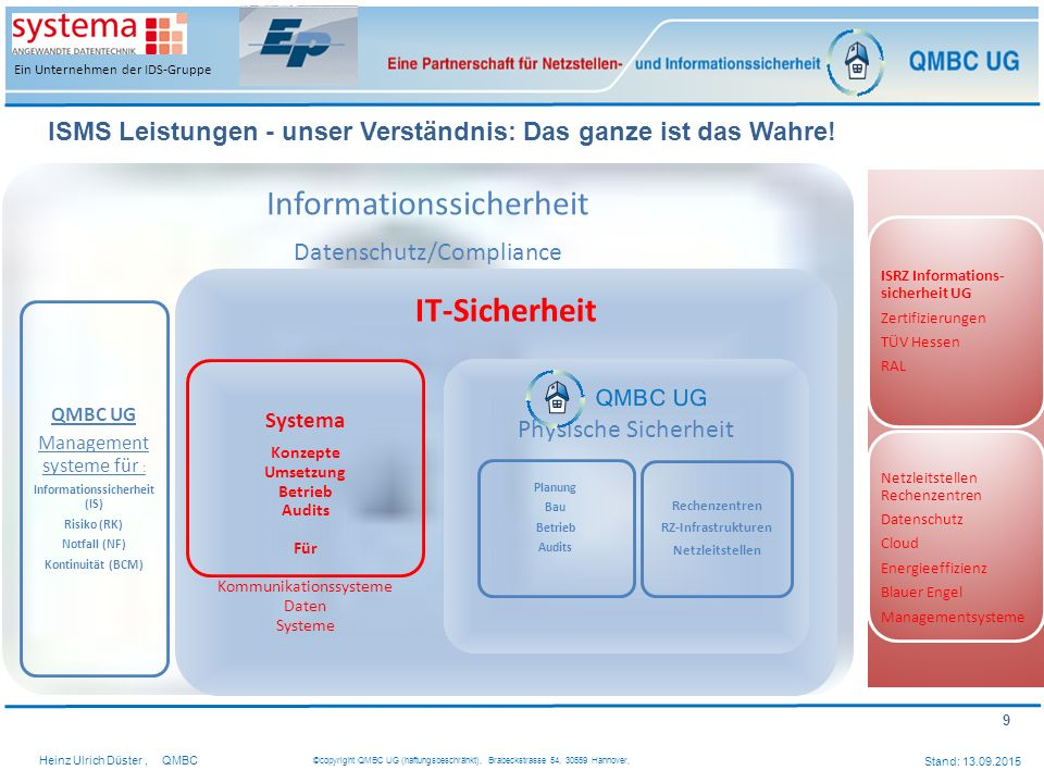 Informationssicher heit (IS)