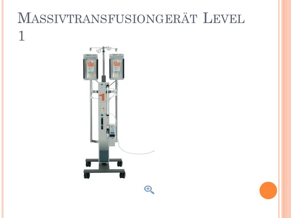 Massivtransfusiongerät Level 1