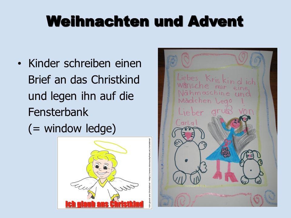 Weihnachten und Advent in Österreich - ppt herunterladen
