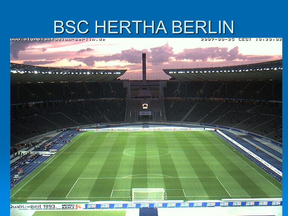 BSC HERTHA BERLIN