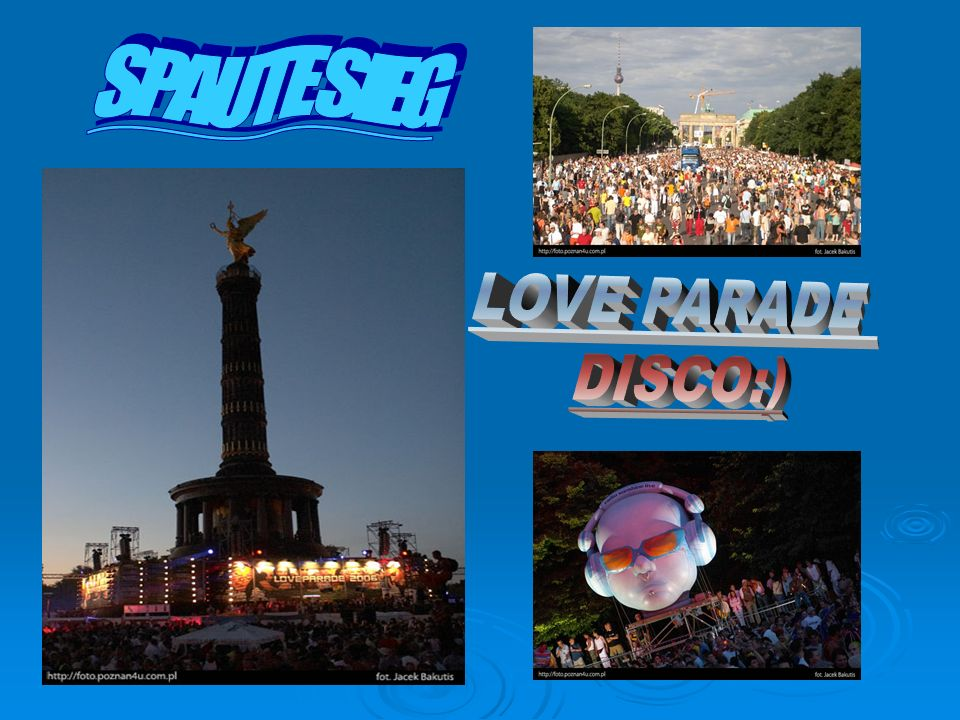 SPAUTE SIEG LOVE PARADE DISCO:)