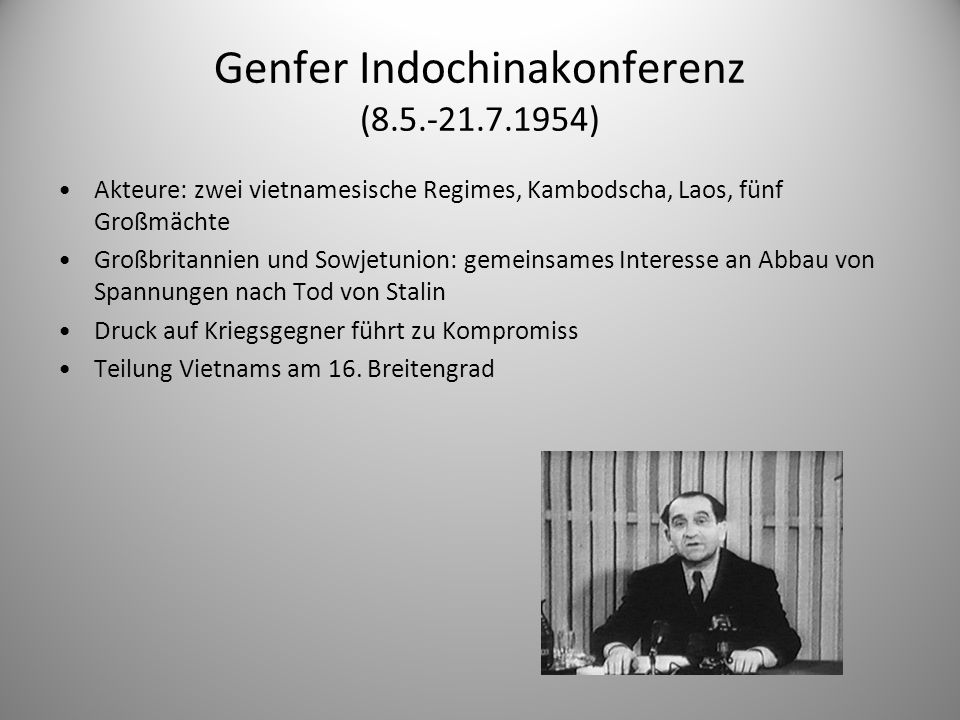 Genfer Indochinakonferenz (8.5.-21.7.1954)