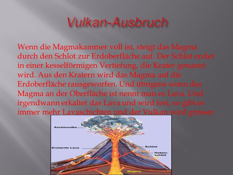 zu meinem vortrag  u00fcber vulkane