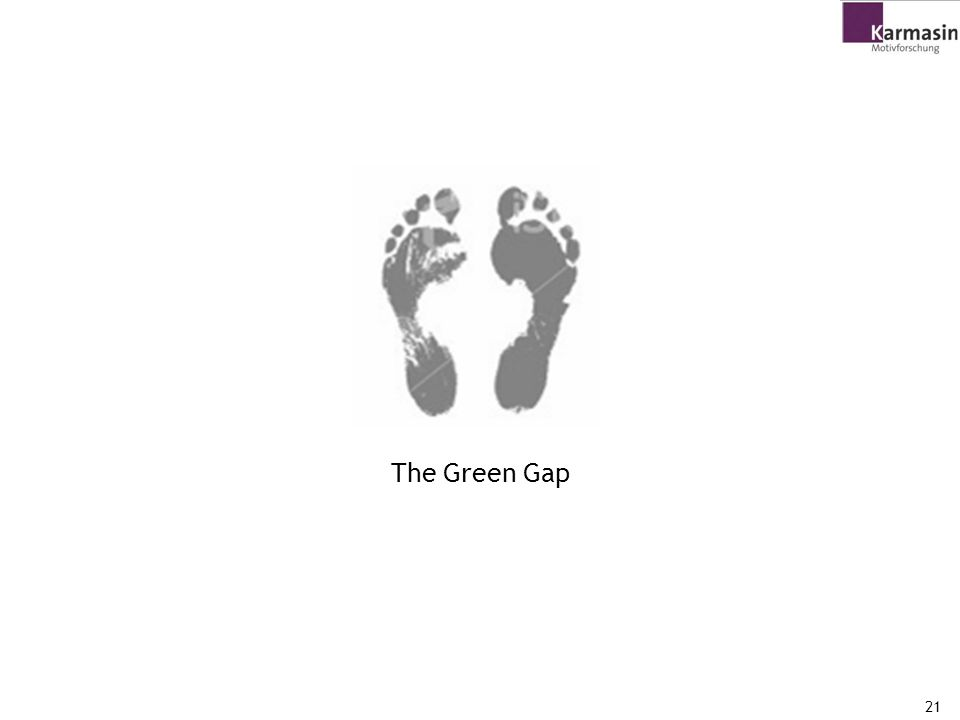 The Green Gap 21