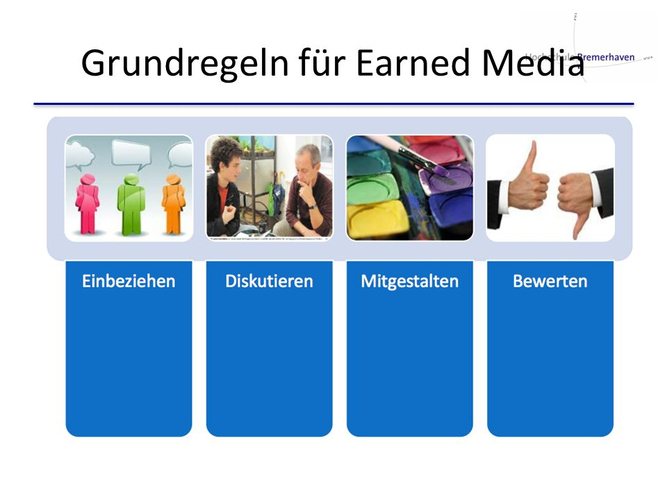 Grundregeln für Earned Media