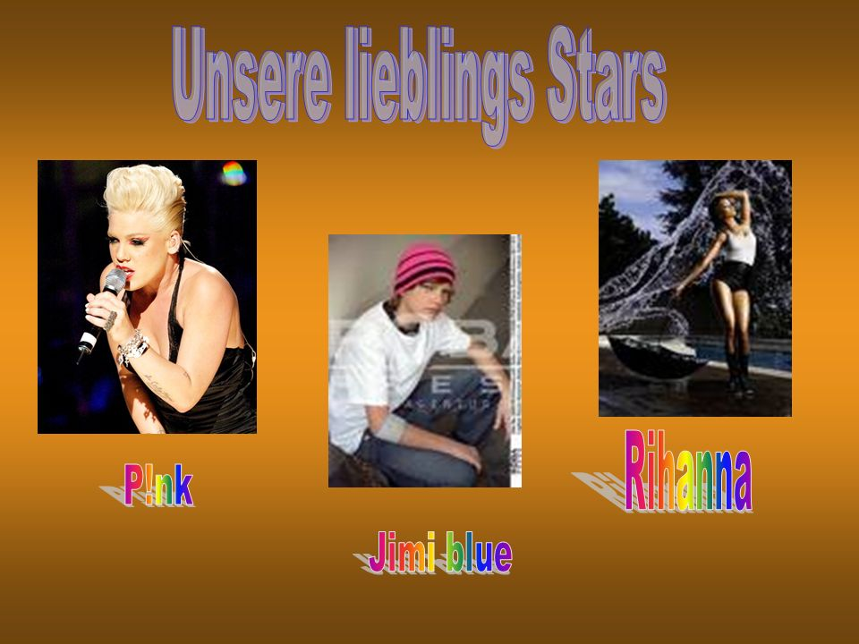 Unsere lieblings Stars