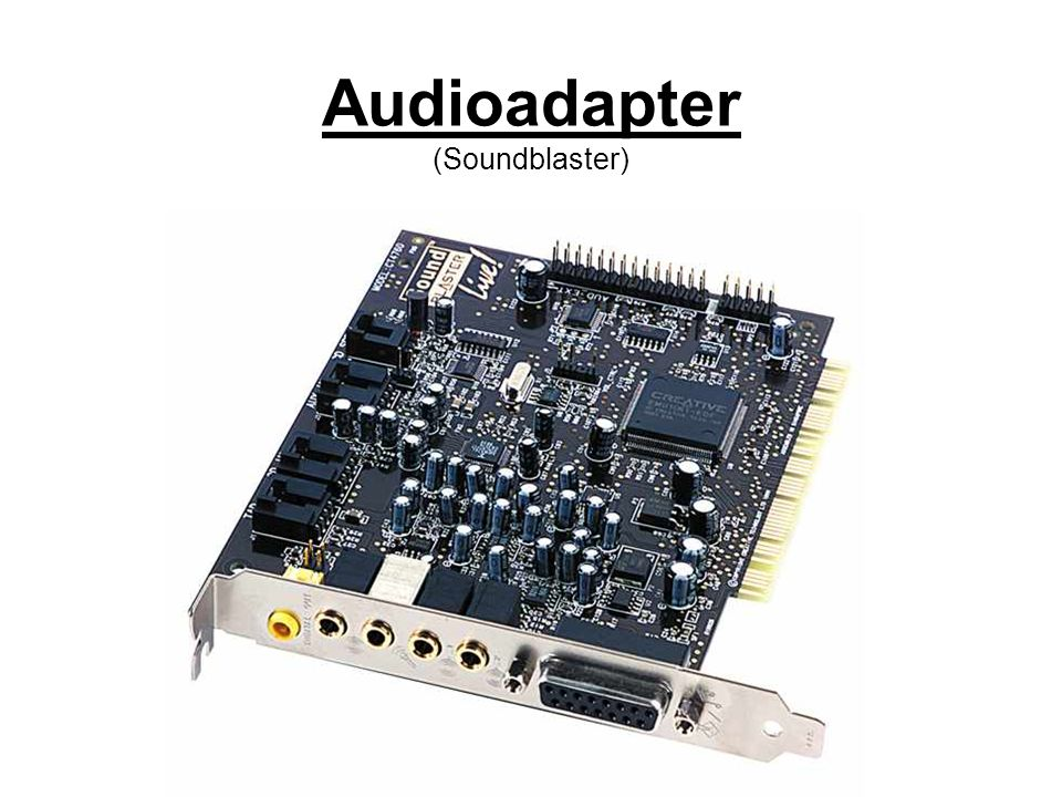 Audioadapter (Soundblaster)