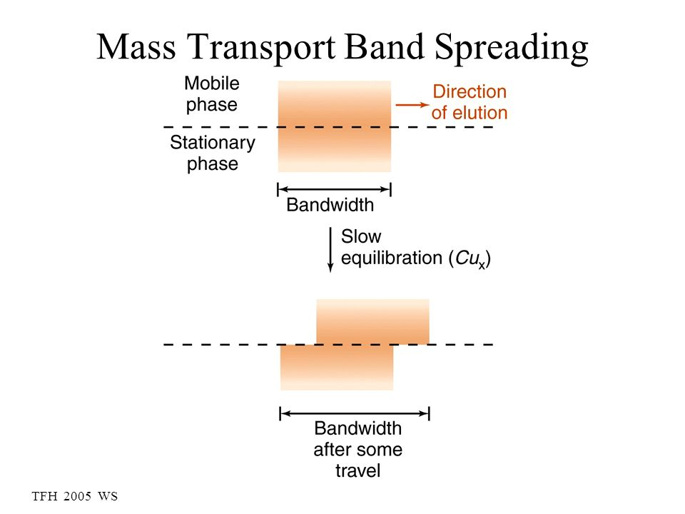 Mass Transport Band Spreading