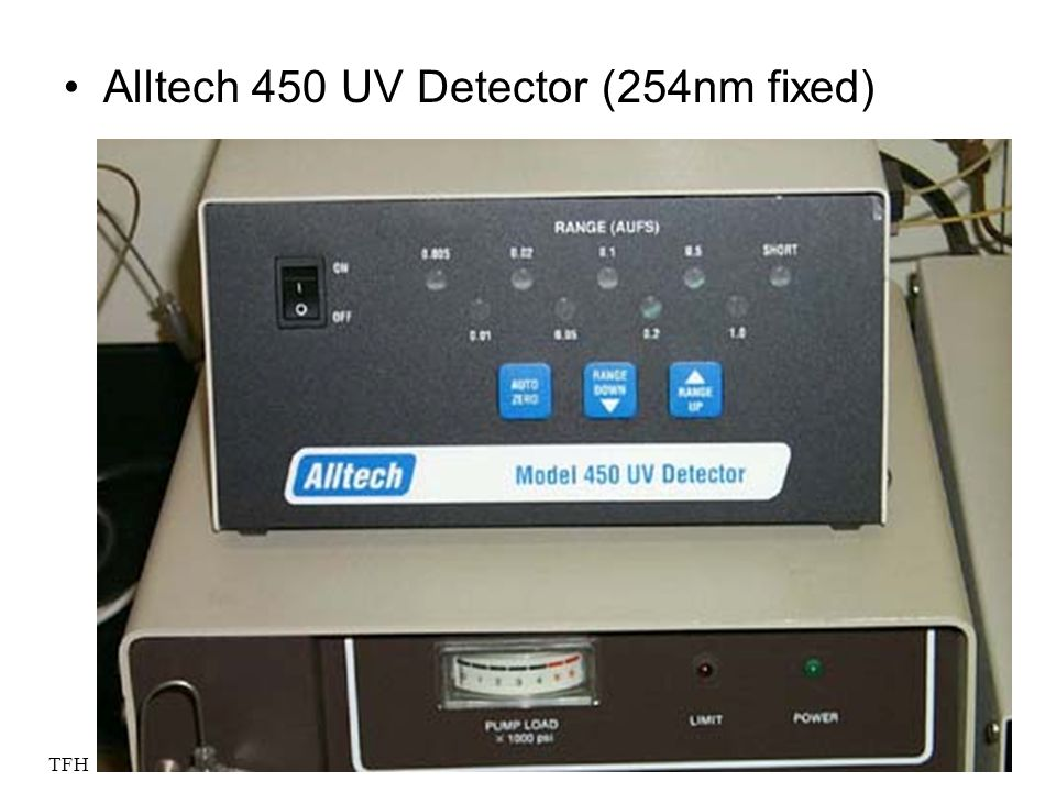Alltech 450 UV Detector (254nm fixed)