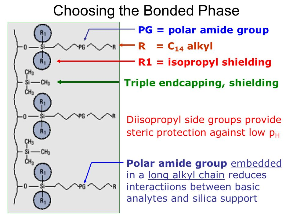 Choosing the Bonded Phase