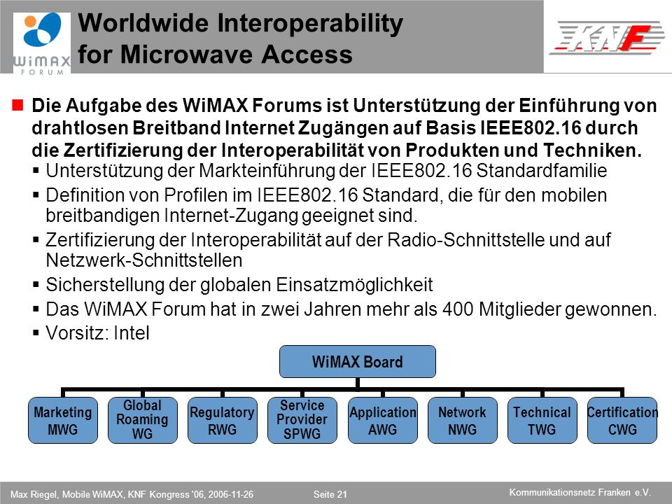 Worldwide Interoperability for Microwave Access