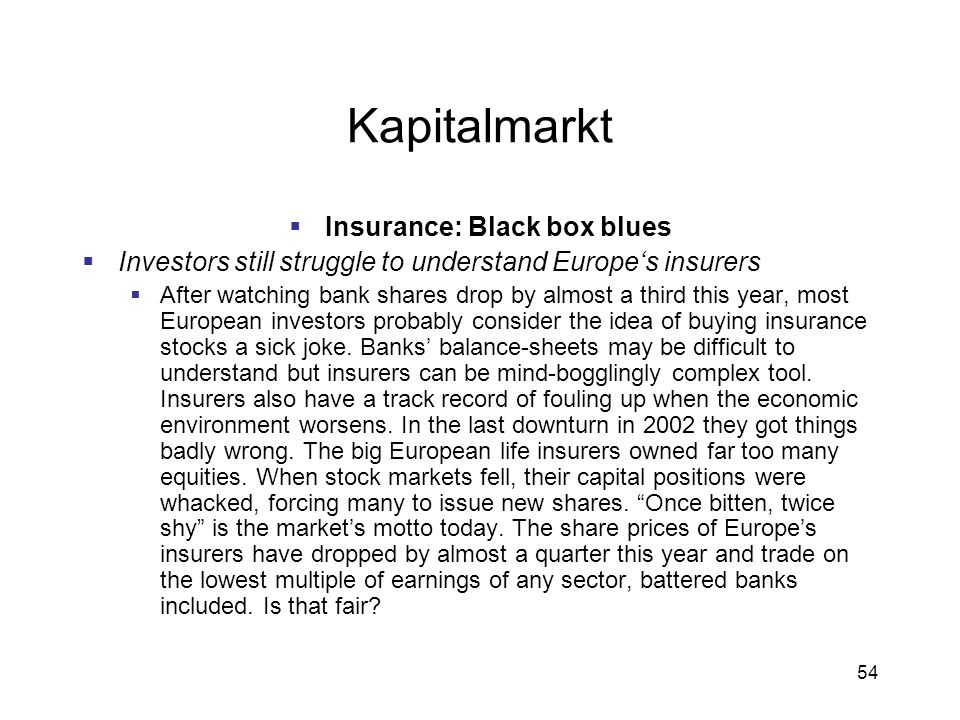 Insurance: Black box blues