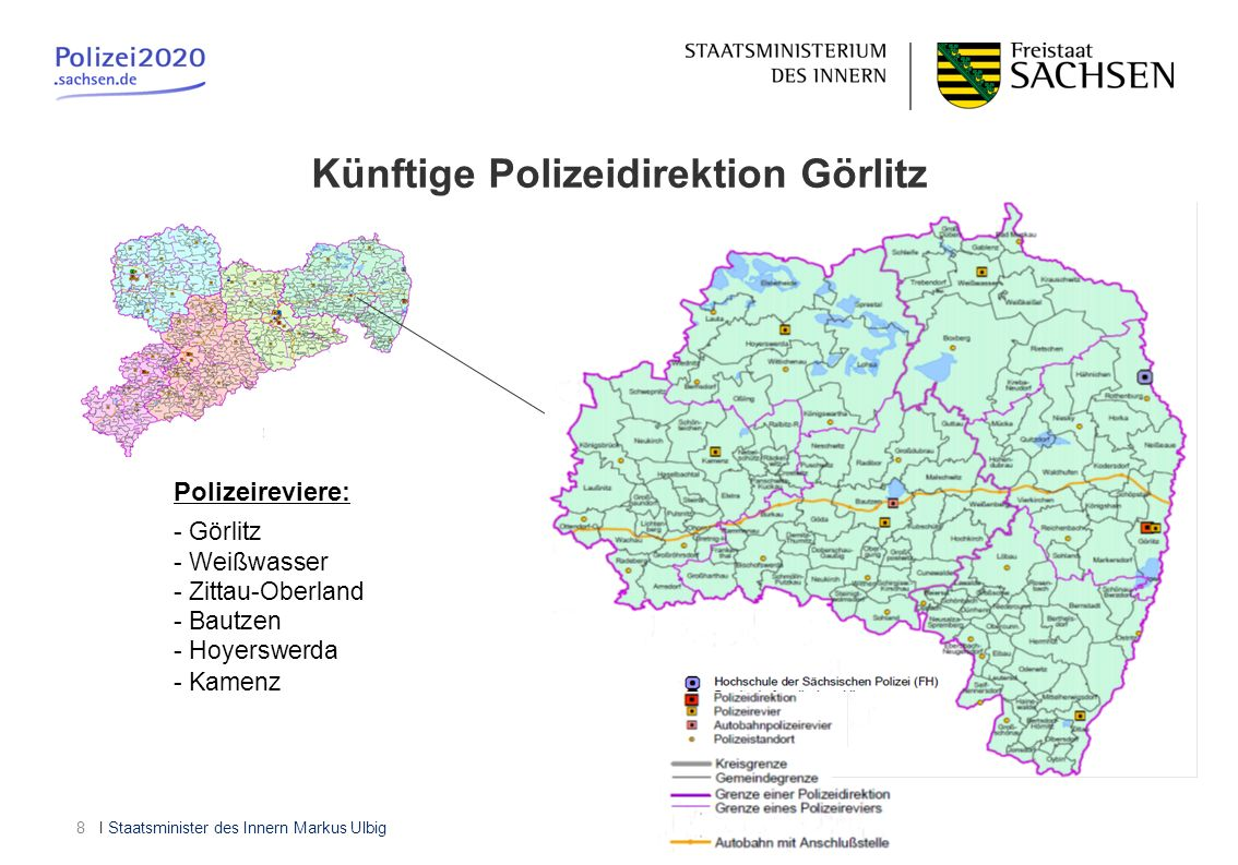Künftige Polizeidirektion Görlitz