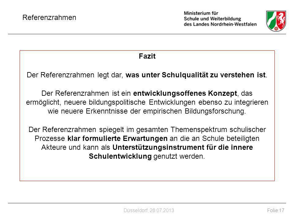 Referenzrahmen Schulqualität NRW - ppt herunterladen