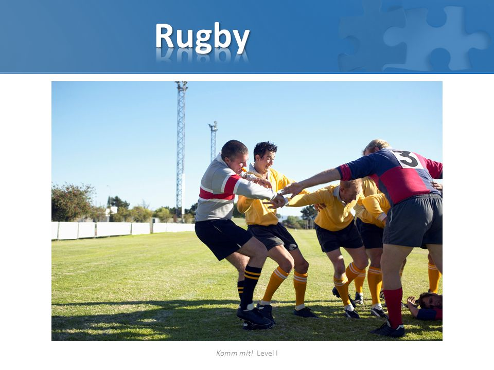 Rugby Komm mit! Level I