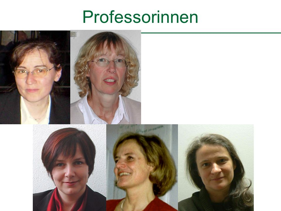 Professorinnen Fotos