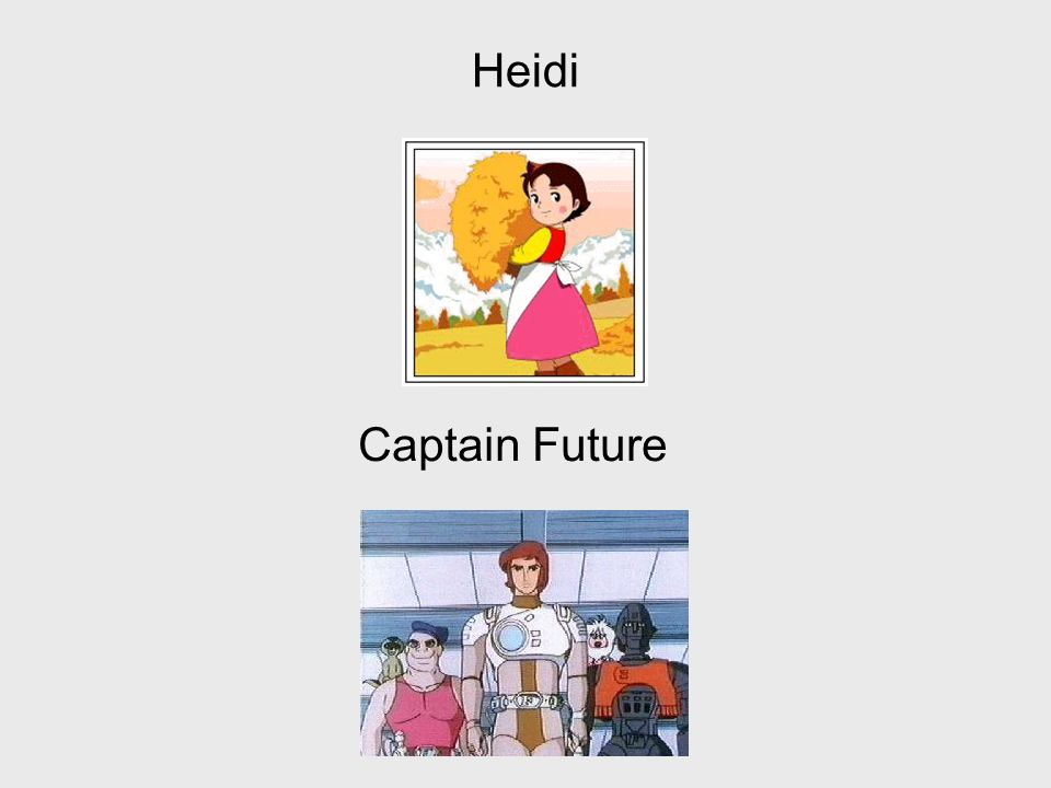 Heidi Captain Future