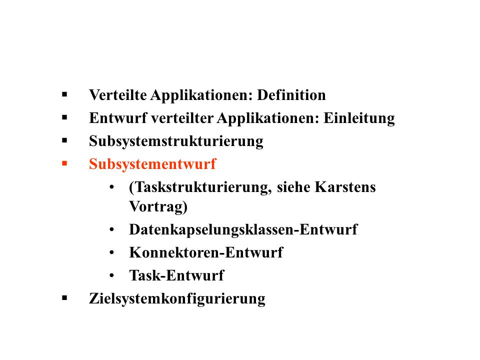 Verteilte Applikationen: Definition