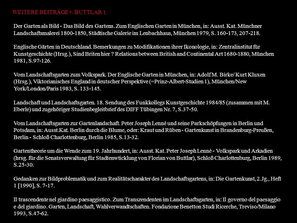 Prof. Dr. Adrian von Buttlar VORLESUNG ENTFÄLLT AM und ppt video ...
