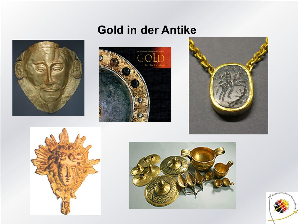 Gold in der Antike