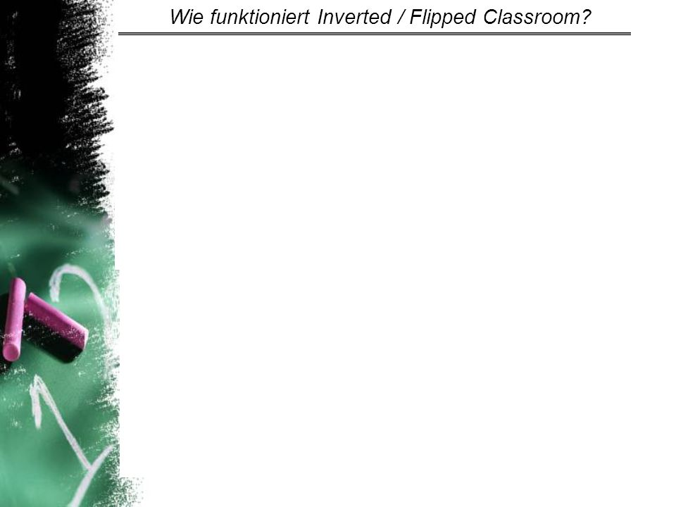 Inverted Classroom Model