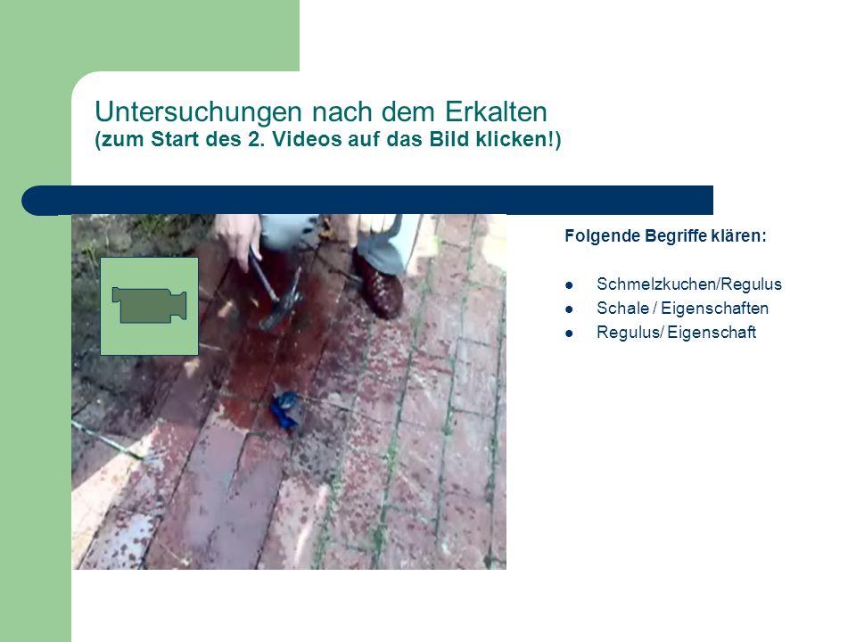 Der Thermitversuch Interaktives Arbeitsblatt Chemie Klasse ppt ...