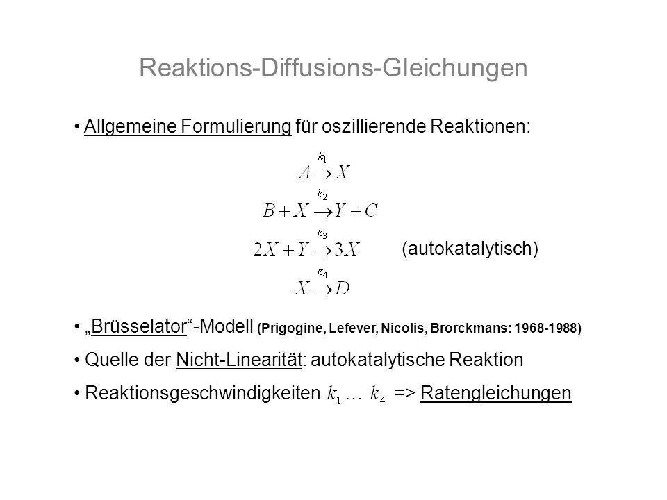 Reaktions-Diffusions-Gleichungen