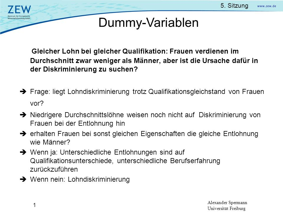 Dummy-Variablen